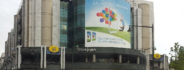 El Corte Inglés is one of Lieux qui ont plu à Dade.