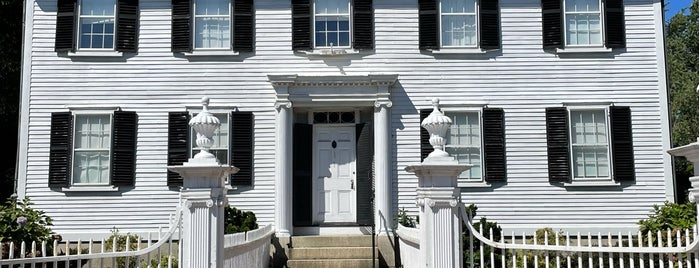 Ropes Mansion is one of Boston/Salem Map.