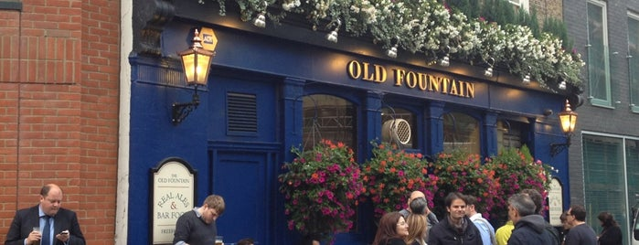 The Old Fountain is one of London's Best for Beer.
