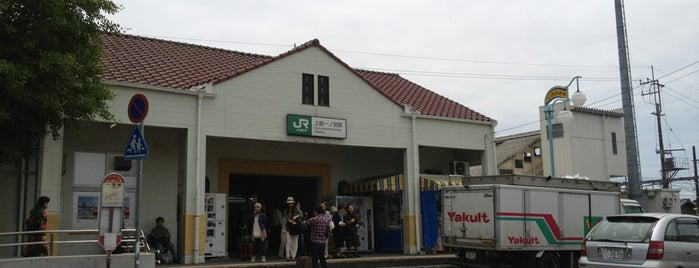 Kazusa-Ichinomiya Station is one of JR 키타칸토지방역 (JR 北関東地方の駅).
