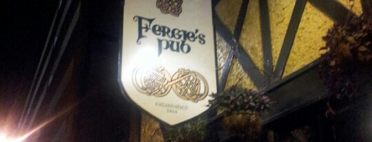 Fergie's Pub is one of Dives.