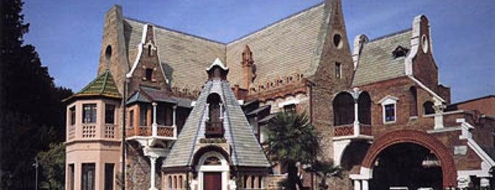 Musei di Villa Torlonia - Casina Delle Civette is one of Rome.