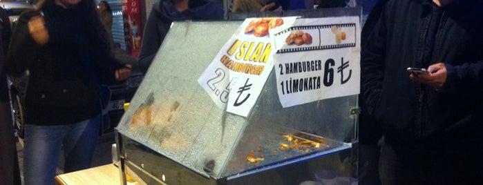 IslakTat Hamburger is one of สถานที่ที่บันทึกไว้ของ Emre.