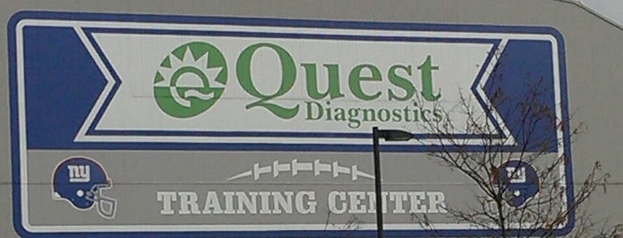NY Giants Quest Diagnostics Training Center is one of Super Bowl XLVIII.