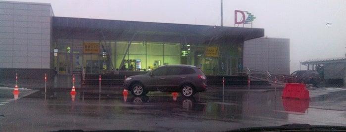 Terminal D / Термінал D (IEV) is one of สถานที่ที่ Olha ถูกใจ.