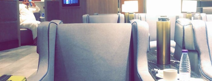 Plaza Premium Lounge is one of Lieux qui ont plu à Farouq.