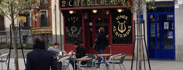 Café del Real is one of madrid.