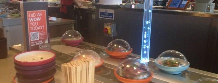 YO! Sushi is one of London!.