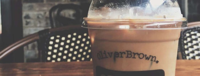 Oliver Brown Belgian Chocolate Cafe is one of Australia Eats.