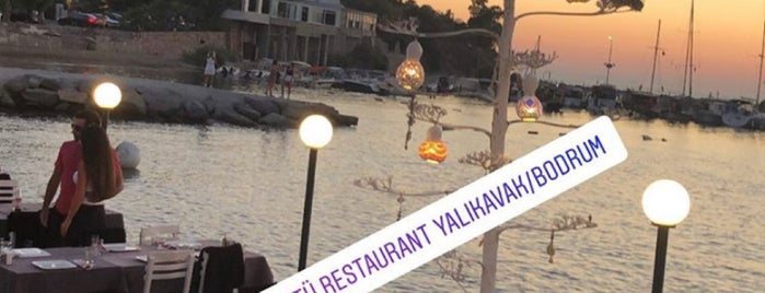 Göçtü Restaurant-Yalıkavak is one of Mekanlar 2.