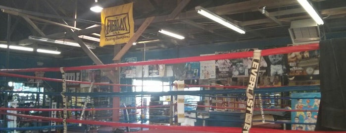 Richard Lord's Boxing Gym is one of Mike : понравившиеся места.