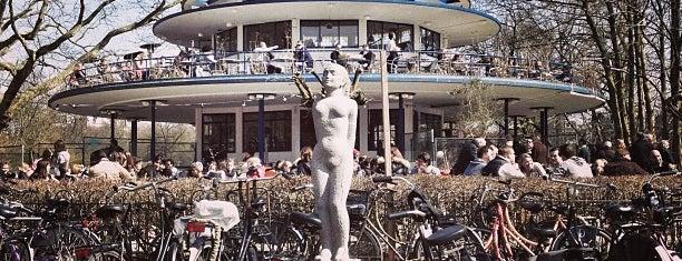 Brouwerij 't IJ - 't Blauwe Theehuis is one of Z☼nnige terrassen in Amsterdam❌❌❌.