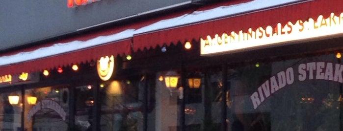 Rivado Argentinisches Beefsteak is one of Orte, die Vasiliy gefallen.