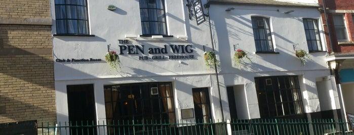 The Pen & Wig is one of สถานที่ที่ Carl ถูกใจ.