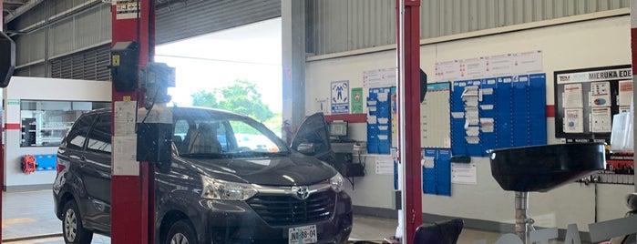 Toyota is one of Posti che sono piaciuti a Don Benga.