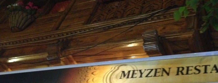 Meyzen Restaurant is one of Denizden Babam Çıksa Yerim.