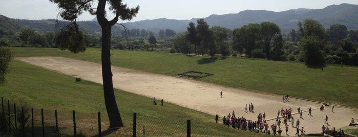 Ancient Stadium of Olympia is one of Grécia.