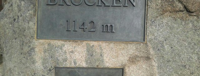 Brocken is one of Harz Mountains.