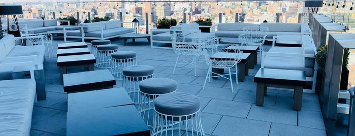 Hotel 50 Bowery NYC is one of Outdoor space.