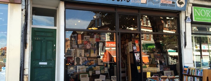 Black Gull Bookshop is one of London4.