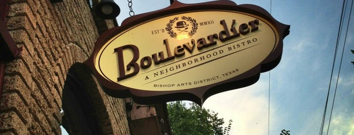 Boulevardier is one of DFW.