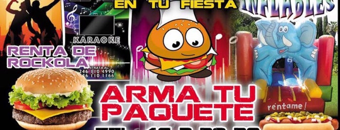 Hamburguesas y hot dogs Leo is one of Foráneos Mex 🚘✈️.
