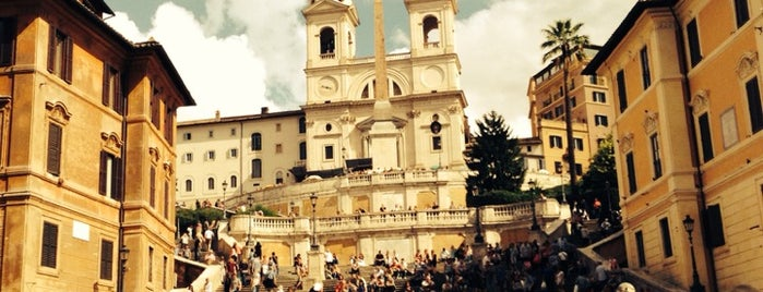 Piazza di Spagna is one of ROME.