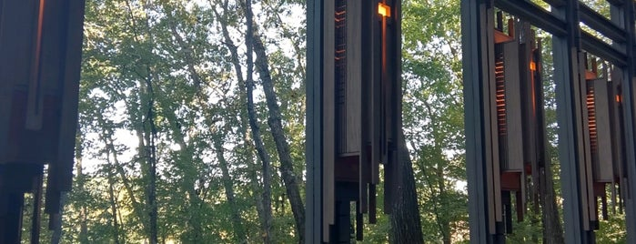 Thorncrown Chapel is one of Northwest Arkansas.