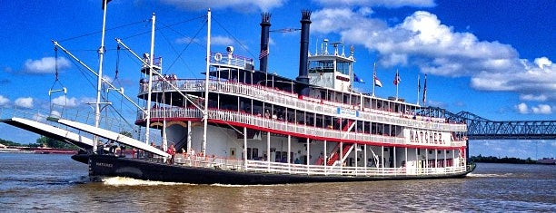 Steamboat Natchez is one of Highlights.