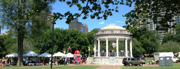 Boston Commons - The Gazebo is one of to do in mass.