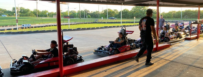 Rockwood Go-Karts is one of Explore Fort Worth Recreation.
