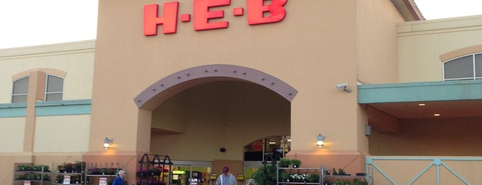 H-E-B is one of The Woodlands.