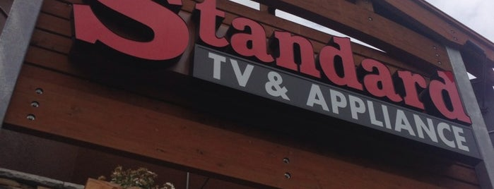 standard tv and appliance is one of Locais curtidos por Susan.
