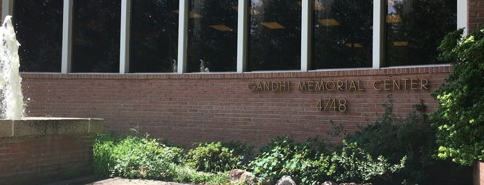 Ghandi Memorial Center is one of Historic Sites & Monuments.