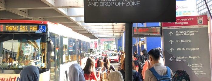 RapidKL Bangsar Bus Station (Bangsar LRT Station) is one of Go Outdoor, MY #6.