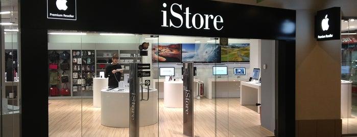 iStore is one of Orte, die Olha gefallen.