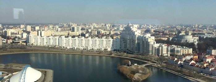 The View is one of Minsk.