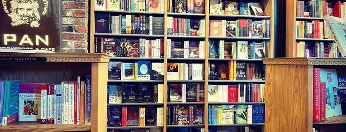 Pan Bookstore & Cafe is one of Orte, die Serbay gefallen.
