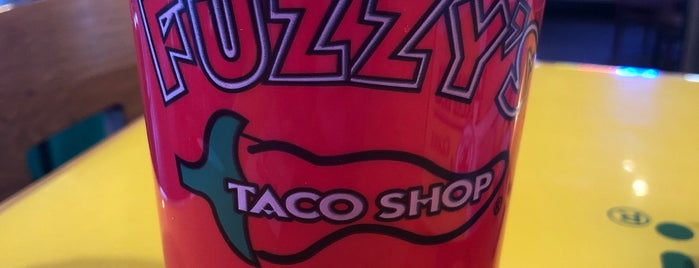 Fuzzy's Taco Shop is one of Lugares favoritos de Ryan.