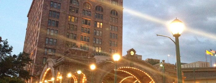Amtrak - Pittsburgh Station (PGH) is one of places I recommend.
