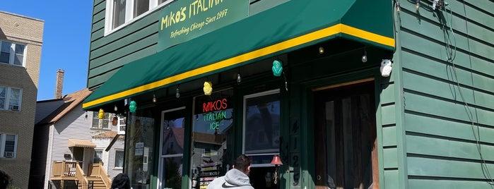 Miko's Italian Ice is one of Chicago.