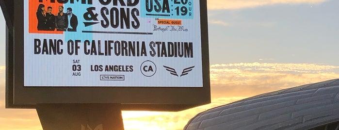 Banc of California Stadium is one of สถานที่ที่ Sara ถูกใจ.