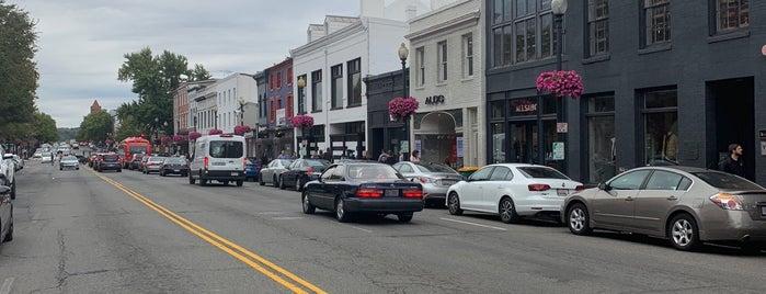 M Street is one of Washington.
