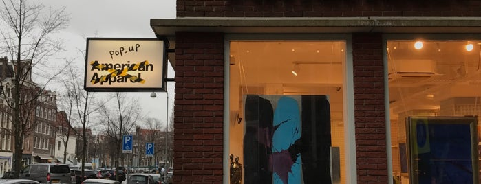 American Apparel is one of My Amsterdam.