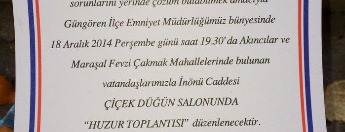 Güngören İlçe Emniyet Müdürlüğü is one of Posti che sono piaciuti a 🇹🇷B@yr@M🇹🇷.