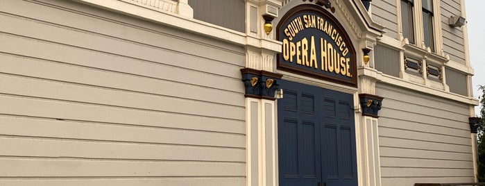 Bayview Opera House Ruth Williams Memorial Theatre is one of SF 49 Mile Makeover.