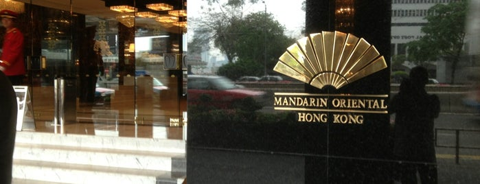 Mandarin Oriental Hong Kong is one of Locais salvos de Orietta.