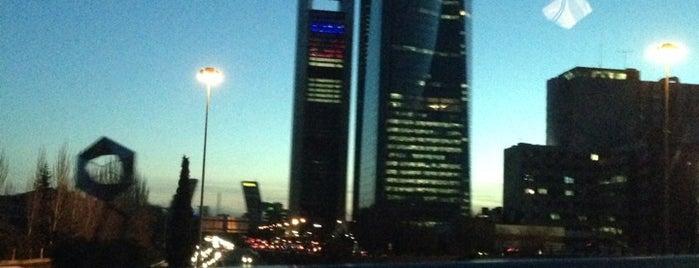 Hotel Eurostars Madrid Tower is one of Orte, die Ugur gefallen.