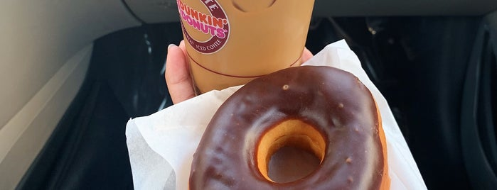 Dunkin' is one of Locais curtidos por Ahmad.