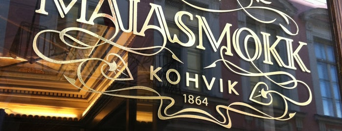 Maiasmokk is one of Restaurants where Tasty and Cozy.